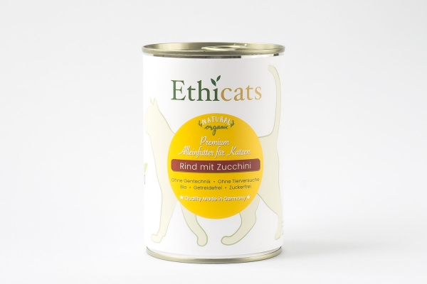 Ethicats 400g Dose Rind